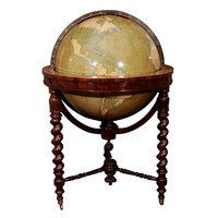 1STDIBS.COM - Arader Galleries - Alexander Keith Johnston - A Large-Scale Globe Showing the Addition of Texas