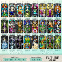 Disney Princess Samsung Galaxy S4 Case Stained Glass Princess Samsung Case samsung galaxy s3 s4 case Hard or Soft Case-DYG24