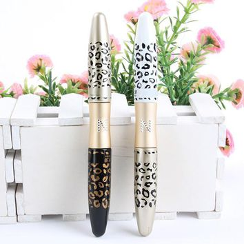New 3D Fiber Leopard Lash Extension Mascara Long Curling Eyelash Cosmetic Waterproof