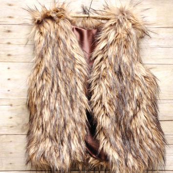 Children's  Faux Fur Vest