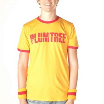 Plumtree Scott Pilgrim Band Logo Gold T-shirt