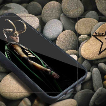 Loki iPhone Case, iPhone 4/4S, 5/5S, 5c, Samsung S3, S4 Case, Hard Plastic and Rubber Case By Dsign Star 08