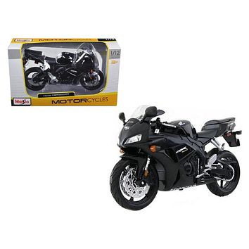 Honda CBR 1000RR Black Motorcycle 1:12 Model by Maisto