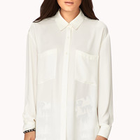 Classic Flowy Button Down