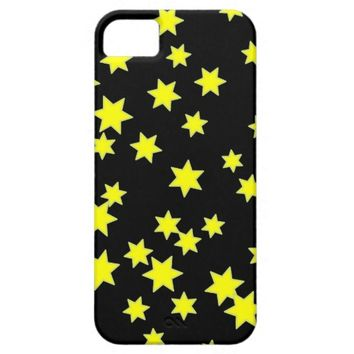 Yellow Stars iPhone SE/5/5s Case