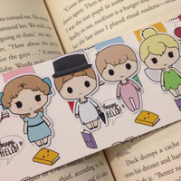 Magnetic Bookmarks • Never Grow Up