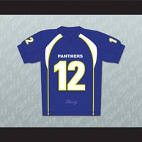 J.D. McCoy 12 Dillon Panthers Football Jersey Friday Night Lights