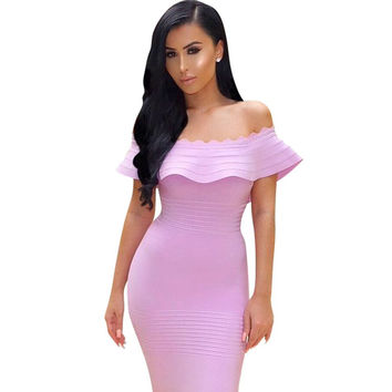 'Gone Until Noon' Summer Bandage Dress