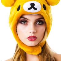 Sazac Rilakkuma Hat Brown One