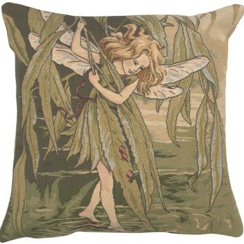 Willow Fairy Cicely Mary Barker  European Cushion Covers
