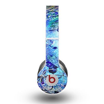 The Black & Bright Color Floral Pastel Skin for the Beats by Dre Original Solo-Solo HD Headphones