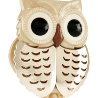 Champagne Owl Scentportable Holder   - Slatkin & Co. - Bath & Body Works