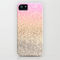 GOLD PINK iPhone & iPod Case by Monika Strigel | Society6
