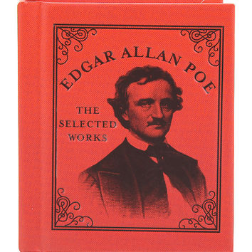 Edgar Allan Poe: The Selected Works Mini Hardcover Book