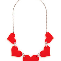 ModCloth Statement To Her with Love Necklace