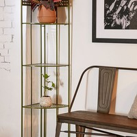 Andy Collapsible Corner Shelving Unit | Urban Outfitters