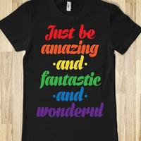 Just Be Amazing and Fantastic and Wonderful (Juniors)