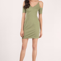 Johan Cold Shoulder Bodycon Dress