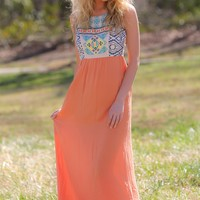 Waiting For Sunset Maxi Dress