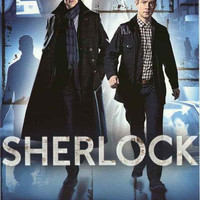 Sherlock Holmes and Dr Watson Poster 24x36