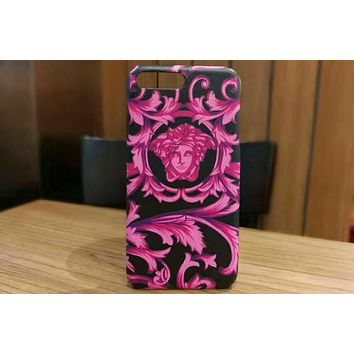 Versace 2018 trendy men and women models iPhone6/78 mobile phone shell F-OF-SJK 1
