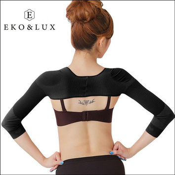 2016 Fashion Women Arm Shaper Back Shoulder Corrector Weight Loss Arm Shaper Lift Shapers Massage Girdle Arm Control Shapewear
