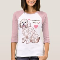 Labradoodle Mom Women's Raglan T-Shirt
