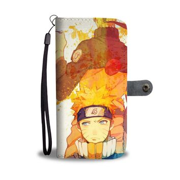 KUYOU Team 7 Naruto And Sasuke Wallet Phone Case