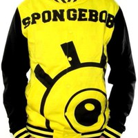 SpongeBob SquarePants Varsity Jacket - Face