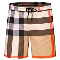 Burberry Fashion Casual Men Drawstring Shorts Sweatpants