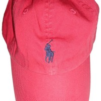 Polo Ralph Lauren Sports Pony Logo Hat Cap (One size, Holiday Green)