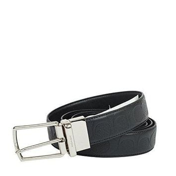 Coach Modern Harness Cut To Size Reversible Signature Leather Belt