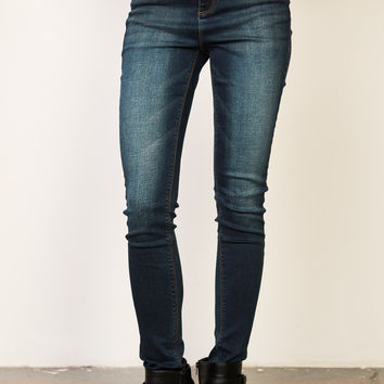 DARK WASH MIAMI HIGH RISE SUPER SKINNY JEAN