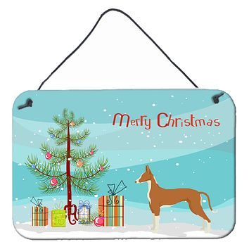 Ibizan Hound Christmas Tree Wall or Door Hanging Prints CK3545DS812
