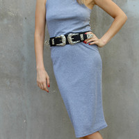 Flaunt It Dress | Grey