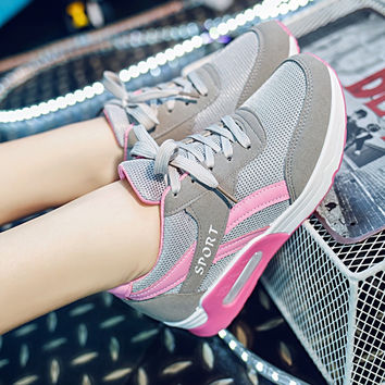 On Sale Hot Sale Hot Deal Comfort Casual Stylish Autumn Shoes Height Increase Low-cut Patchwork Sneakers [9432944842]