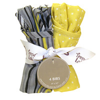 Bouquet 4 Pack Bib - Hello Sunshine