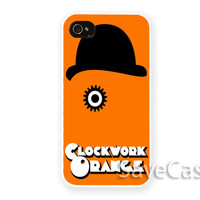 A Clockwork Oranges - iPhone Case - iPhone 4 iPhone 4s - iphone 5 - Samsung S3 - Samsung S4