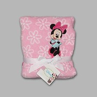 Disney Baby Minnie Mouse Infant's Fleece Blanket - Baby - Baby Bedding - Blankets
