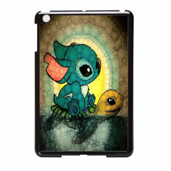 Stitch On Turtle iPad Mini Case