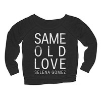 Selena Gomez Official Store | Same Old Love Girl's Crewneck Fleece