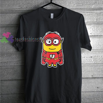 Flash Minion t shirt gift tees unisex adult cool tee shirts