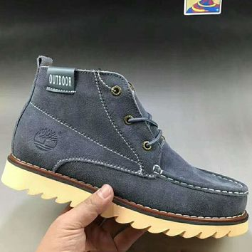 CAT Fashion Men Leather Outdoors Ankle Boots Martens Boots Shoes G-A0-HXYDXPF