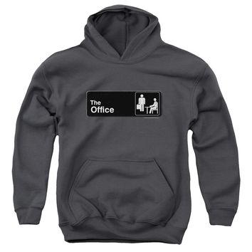 The Office - Sign Logo Youth Pull Over Hoodie
