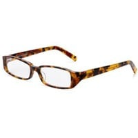 Corinne McCormack Women`s Sherry Reading Glasses,Tortoise Frame/Clear Lens,2.00 Strength