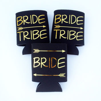 Bride Tribe Bachelorette Coozies