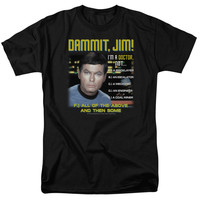 Dammit, Jim! Star Trek T-Shirt