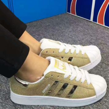 ADIDAS Shells colorful Sport Casual Shoes Sneakers yellow