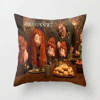 Brave Throw Pillow by Store2u