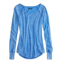 AEO Factory Long Sleeve Thermal T-Shirt
